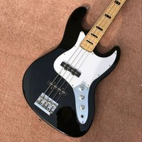 Wholesale China Guitar Free Shipping - 2017 new style Bass guitar, 4 string electric guitar, black bass, new arrival OEM from China free shipping