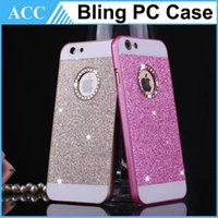 Wholesale Galaxy S4 Bling Hard Case - Bling Diamond Glitter Powder Hard Case For iPhone5S 6 6 Plus Galaxy S4 S5 S6 A3 A5 A7 Note3 4 Back Cover 100pcs