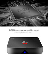 Android 7.1 V88 tv boxe Günstigstes RK3229 Quad-Core 1 GB 8 GB Smart TV Box WiFi 3D HDMI TV Günstige Set-Top-Box Media Player