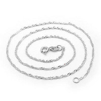 Wholesale platinum pendant for women resale online - Necklace For Women Men Snake Chain inch New Sterling Silver White Brass Plated Platinum Long Chain Necklaces