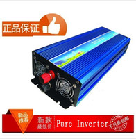 Wholesale Sine Wave Free Shipping - 3000W Pure Sine Wave Power Inverter peak 6000w Promation only 3days.DOOR TO DOOR DHL FEDEX free shipping ,DC 12V or 24V to AC 220V or 110V