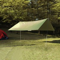Großhandels- Ultralight Sun Shelter Anti UV-Strahlung Strand Zelt Wasserdicht Markise Zelt Camping Sunshelter Drop Shipping