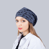 New Unisex Womens Mens Knit Baggy Beanie Word Kpop Winter Classic Cappelli Couples Matching Cappelli Cool Berretti Cappelli Hip Hop Warm Slouchy Cap Vendita