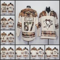 Wholesale Realtree Xl - NHL Mens 2017 Old Time Natural Realtree Camo Hoodies 87 Sidney Crosby 30 Henrik Lundqvist 36 Mats Zuccarello 4 Bobby Orr 37 Patrice Bergeron