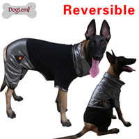 Wholesale Heat Vest - Doglemi HeatPaw Heat Reflective Reversible Fleece Large Dog Jumpsuit Pet Jumper