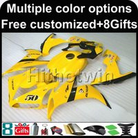 Wholesale R1 Cowl - 23colors+8Gifts YELLOW set motorcycle cowl for Yamaha YZF-R1 2004-2006 04 05 06 YZFR1 2004 2005 2006 ABS Plastic Fairing
