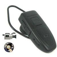 Wholesale Bluetooth earphone Headset Camera GB HD Bluetooth Headset DVR  pinhole Camera video recorder Mini Camcorder 882e3ea3db1b