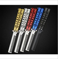 Wholesale Folding Scissors Stainless - Benchmade Butterfly Folding Knives Outdoor Survival Knifes Hunting Tactical 440C Stainless Steel Blade Utility Pocket Knife YYA801