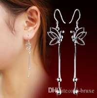Wholesale Cross Wire - High quality Female butterfly ear wire earrings wholesale jewelry earrings earrings wholesale manufacturers mixed batch quality