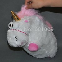 Wholesale Despicable Fluffy Unicorn Plush - Free Shipping EMS 50 Lot Despicable Me Fluffy Unicorn Plush Toy Doll big 12 inch Fluffy figure gift
