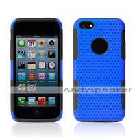 Wholesale Protective Cases Iphone5c - HOT 2 IN 1 Hybrid PC+Silicone Back Cover for iphone 5C case Protective Cell Phone Cases Colorful for iphone5C 100pcs