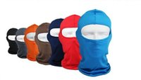 Wholesale Wholesale Beanies For Sale - Wholesale-Hot sale! Motorcycle Cycling lycra Balaclava Full Face Mask For Sun UV Protection