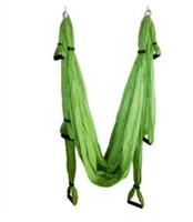yoga swing großhandel-Kostenlose porto-Qualität europäischen und amerikanischen Anti-Schwerkraft-Yoga-Luft-Hängematte YOGA SWING