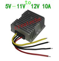 Wholesale Dc Booster 5v - DC DC power converter DC-DC 5V-11V to 12V booster 5V6V7V8V9V10V11V to 12V 10A DC-DC 5-11V step-up to 12V 10A 120w
