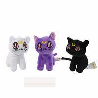 juguetes de peluche anime comics al por mayor-2020 18cm juguete animado el envío libre bastante Guardián Sailo0r Luna de felpa juguetes muñecas Luna Artie Smith Diana