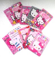 Wholesale Business Kitty - 2014 Passport holder passport cover card holder card case hello kitty pattern ID holder business card cover 20 Pcs lot