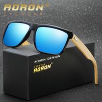 Wholesale Wooden Wayfarer Sunglasses - Brand Designer Sunglasses for Men and Women Aviator Sun Glasses Mens Luxury Sunglass Jawbreaker Wayfarer Mirrored Sunglasses Bamboo Frame