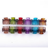 Wholesale Side Makers - Hair accessories summer style accessories side-knotted Colorful bright Claw Clip hairpin hair clip hair maker tools 24pcs set