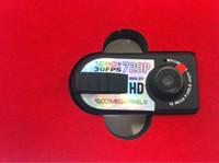 Wholesale Mini Thumb Dv Q5 - 1pcs T8000 HD 720p IR Night Vision Q5 Metal Hidden Camera Mini Camcorder Thumb Mini DV Digital Camera Recorder HD DVR L0192517