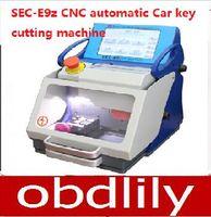 Wholesale Automatic Locksmith - 2017 Original Auto Locksmith Tool SEC-E9z CNC automatic key cutting machine Multi Language Portugues Italian Russian version