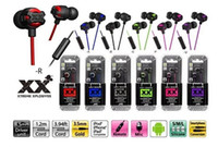 Wholesale Universal Canal - HA-FR201 Xtreme Xplosives In Ear Canal Earbud Headphones With Remote & Mic (Black) on the bacca store