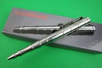 Wholesale Defense Pens - New Arrival! With Gift Box Packing LAIX B009 Stainless Steel Construction Tactical Pens Outdoors Self Defense Pen 1pcs freeshipping
