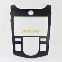 Wholesale Dvd Car For Kia Forte - Car DVD CD Radio Stereo Fascia Panel Frame Adaptor Fitting Kit For Kia Forte 2010~2013(Black)