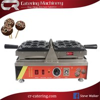 CE / EU cast iron stainless steel New Item American Style Commercial Use Electric 110 220V Lolly Waffle Maker Non-Stick Lollipop Waffles on Stick Waffle Iron Makers (CR-WL26)