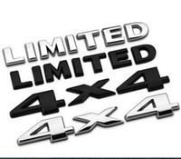 körperaufkleber für suv großhandel-Hohe Qualität Auto Metall Aufkleber 4x4 BEGRENZTE Schwanz Emblem Geländewagen SUV Auto Körper Aufkleber Fit Für Marke Auto