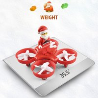 Wholesale Aircraft C - JJR C H67 Mini Drone Flying Xmas Santa Claus RC Quadcopter Helicopter Aircraft RC Quadrocopter RTF Drone Toys For Children Kids