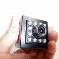 Wholesale Webcam Ip Network Mini Camera - HD 1080P 940nm Ir Leds Mini IP Network Wifi Camera IR camera Mini Wifi Wireless Webcam With Ir Cut cctv camera Night Vision