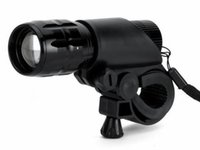Vélos Light 7 Watt 2000 Lumens 3 Mode CREE Q5 LED Bike Light allume Front lampe torche lampe étanche + Holder Torch