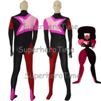 Wholesale custom cosplay for sale online - Freeshipping Hot Sale Garnet From Steven Universe Spandex Bodysuit Cosplay Hallween Costume for Woman