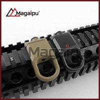Wholesale Rail Mount Accessories - Hunting Accessories QD Steel Sling Mount Slings Buckle Plate Adapter Hook Attachment For 20mm Rail Rifles