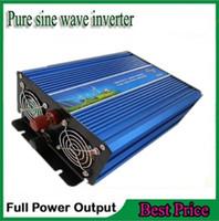 Wholesale Solar Wind Power System - Off Grid Tie Inverter 2000W pure sine wave inverter DC 12V 24V 12v to AC 230V 220V For wind or solar systems peak power 4000Watt