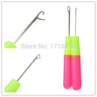 Wholesale Best Promotion cm Handle Tool Crochet Hooks Weave Knitting Knit Braid Needle Craft Hair