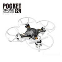 Wholesale Uav Drone Rc - Drone Quadrocopter FQ777-124 Pocket Drone 4CH 6Axis Gyro Quadcopter With Switchable Controller RTF UAV RC Helicopter Mini Drone 363