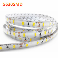 Super Bright 5m rell 5630 5730 SMD 300leds Tira LED Impermeable IP65 Flexiable Blanco frío Blanco puro Blanco cálido 200 metros 200M