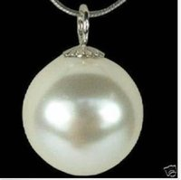 Wholesale 16mm Pearl Pendant - AAA+ 16MM south sea Blending shell PEARL NECKLACE