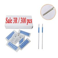 Wholesale Eyebrow Sterilized Needles - Permanent Sterilized Makeup Needles 3R For 300pcs Eyebrow Pen PMN-901-2