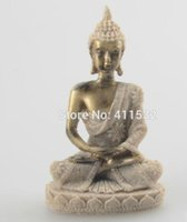 Wholesale Craft Resin Statue - Thailand style feng shui resin buddha statue for home decoration novelty households craft