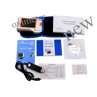 Wholesale Ecg Ekg Portable Heart Monitor - NEW BRAND 2PCS New HEAL FORCE PRINCE 180B Handheld Easy ECG EKG Portable Heart Monitor Software USB oximeter
