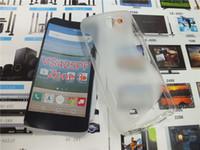xperia s telefonu toptan satış-S HATTı Anti-Patinaj Jel TPU İnce Yumuşak Kılıf Sony Xperia Için XZ XZS X Kompakt E5 XA Ultra LG Bölge 3 VS425PP Telefon Kauçuk silikon Arka Kapak