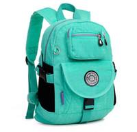 Wholesale Back School Backpacks - Wholesale-16colors Women Floral Nylon Backpack Female Brand JinQiaoEr Original Kipled School Bag Casual Travel Back Pack Bags Hot Sale