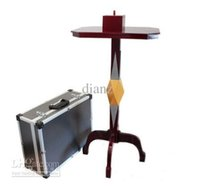 Wholesale With Anti Gravity Box Candlestick Round Floating Table High quality Stage Illusion Magic