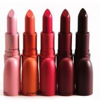 Wholesale Wholesale Charlotte - By DHL Makeup Gia Valli Matte Lipstick Gia Valli Collection Long Lasting Lip Gloss 5colors Eugenie Charlotte Margherita Tats Bianca B #71815