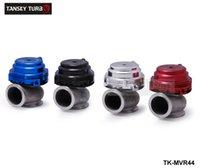 Wholesale Intake Honda Civic - Tansky-MVR 44mm V Band External Wastegate Kit 24PSI Turbo Wastegate with V Band Flange High Quality default color BLACK TK-MVR44