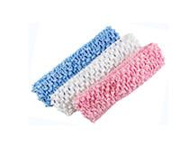 "Wholesale Top Girl Hair - Freeshipping 1.5"" soft high quality girl Top TuTu Sweet Elastic crochet baby headband,Hair Bow,20pcs,27colors FD6502"