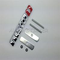 Wholesale Gtr Emblem - Car Styling Car Front Grille Emblem Badge Accessories Sticker For NISMO Skyline 180SX GTR R35 R50 Qashqai Tiida S13 S14