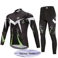 9fdcde87c Full Anti UV Men hot sale new style custom moxilyn cycling jersey set long  pants winter